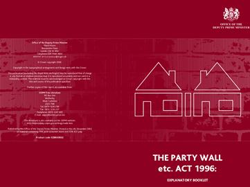 A Guide to the Party Wall Act